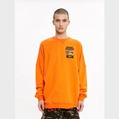 [블락스] CREWNECKS ORANGE
