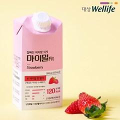 잘 빠진 저지방 식사 마이밀 Fit  딸기 3팩