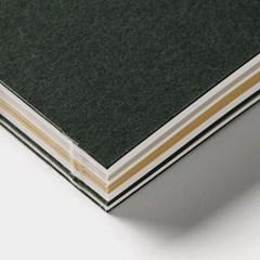 Caprice note - Deep green