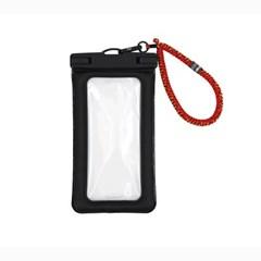 IPX8 터치 스마트폰 방수팩 & 슬림 스트랩