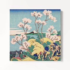 캔버스 일본 명화 꽃 그림 액자 가츠시카 호쿠사이 3