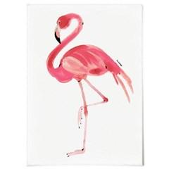 패브릭 포스터 F045 동물 그림 아이방 액자 플라밍고