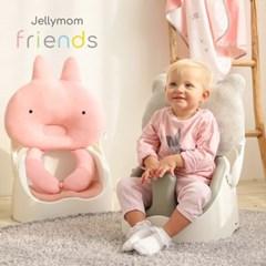 젤리맘프렌즈 4종세트(아기범보의자+카트+가방+프렌즈필로우