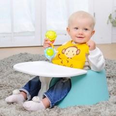 젤리맘 점보플러스 고고세트 3종set(아기의자+가방+트레이)
