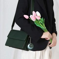 (달거울 증정/탄생석) Two way Bag (S,M) - Green