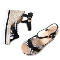 kami et muse Esperille platform wedge heel sandals_KM19s132