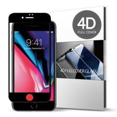 스킨즈 아이폰8 4D 풀커버 강화유리 필름 (1장)_(901021677)