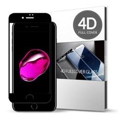 스킨즈 아이폰7 4D 풀커버 강화유리 필름 (1장)_(901021679)