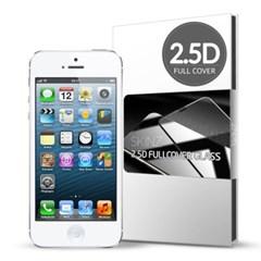 스킨즈 아이폰5 2.5D 풀커버 강화유리필름 (1장)_(901021684)