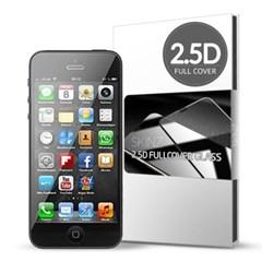 스킨즈 아이폰5S 2.5D 풀커버 강화유리필름 (1장)_(901021686)