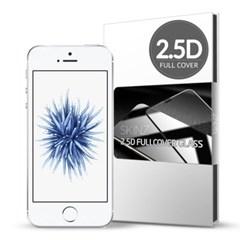스킨즈 아이폰SE 2.5D 풀커버 강화유리필름 (1장)_(901021687)