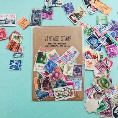 Vintage Stamp (빈티지 우표)