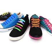 패피를 위한 매듭이 필요없는 실리콘 신발끈 20P