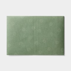 Wrapping paper jacket - Blossom-Green