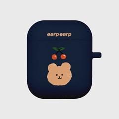 Cherry bear-navy(Air Pods)_(1119625)
