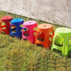 국내산 파라솔 보조원형의자 4개세트/편의점 의자/ 야외의자