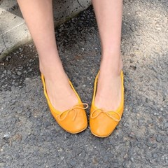 Bending ribbon flat shoes_K_(1274944)
