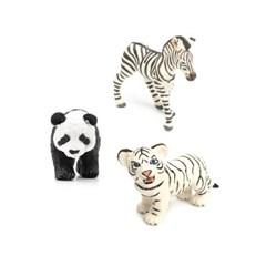 [사파리엘티디] 동물원 인기 동물피규어 3종(271829/228_(1331144)
