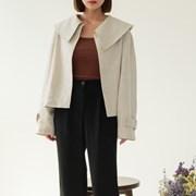linen big collar jacket_(1221329)