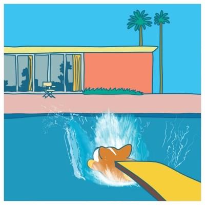 데이비드 코기니 'A Bigger Splash!' [Parody]  Poster