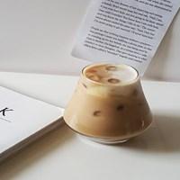 커브 스페셜 카페유리컵(290ml) 글라스컵 양주잔