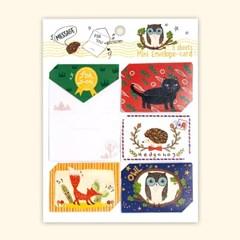 디원 동물 미니미니카드 (YD03)