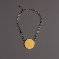 [모드곤] The sun on the ice choker necklace