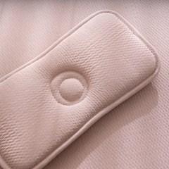 보들보들 핑크모달 3D매쉬 쿨베개 (짱구형)
