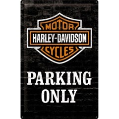 [24010] Harley-Davidson Parking Only