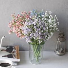 봄빛 안개꽃 조화- 4color