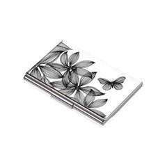[트로이카] BLACK FLOWERS 명함케이스 (CDC10-A152)
