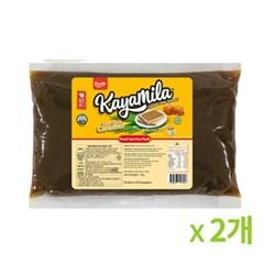 카야밀라 씨솔트카라멜 카야잼 1kg 2개묶음_(815218)