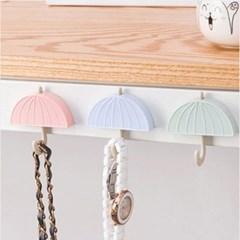 심플 우산 자석 후크 걸이개(색상랜덤)
