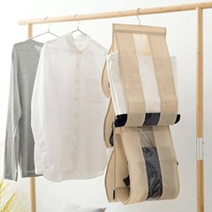 인블룸 공간활용 가방수납정리함 옷걸이형_(1717601)