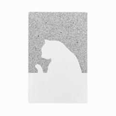 퍼즐 고양이 대리석 에어컨 (아이스 배터리 4개 포함)