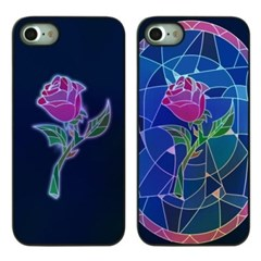 DPARKS STAINED GLASS ROSES TWINKLE CASE_(1170283)
