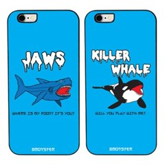 MOKSTER SEA FRIENDS(4TYPE) BLACK CASE_(1170236)
