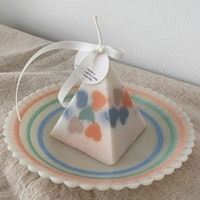Heart Candy Candle