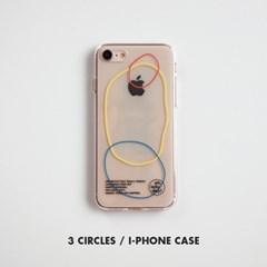 O,LD! 3 CIRCLES 아이폰케이스