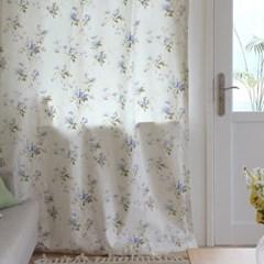 [Curtain] 코튼 플로랄 커튼 - 프루너스