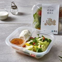 홀리셔스 몸매관리 토핑 리코타 치즈 샐러드 10팩