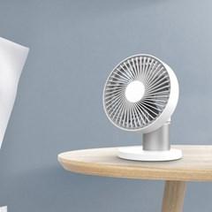 카링 써큘레이터형 휴대용 무선 중소형 선풍기 탁상용 책상용 사무용
