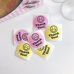 Big Thank You! Smile Sticker (6개)