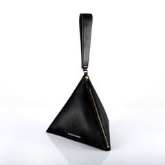 [디즈니 가죽 참 5종 택1] 피라미드 가방(Black)_F
