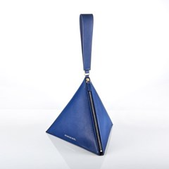 [디즈니 가죽 참 5종 택1] 피라미드 가방(Blue)_F