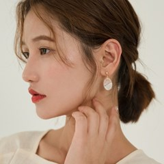 elliptical shape earring_(1238399)