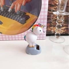 Unicorn Solar Toy