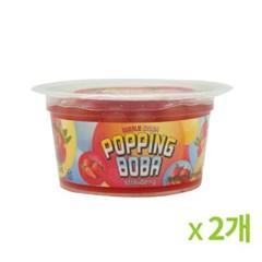 버블스톰 팝핑보바 딸기 100g 2개묶음_(819075)