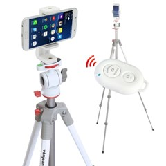VT-350M 스마트폰삼각대 + VCM-W563G 핸드폰거치대 + S3 리모컨 SET
