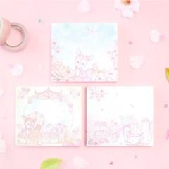 마넷 메모지 - 벚꽃밤비